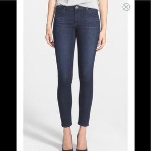 AG The Legging Ankle Super Skinny Jean Size 28